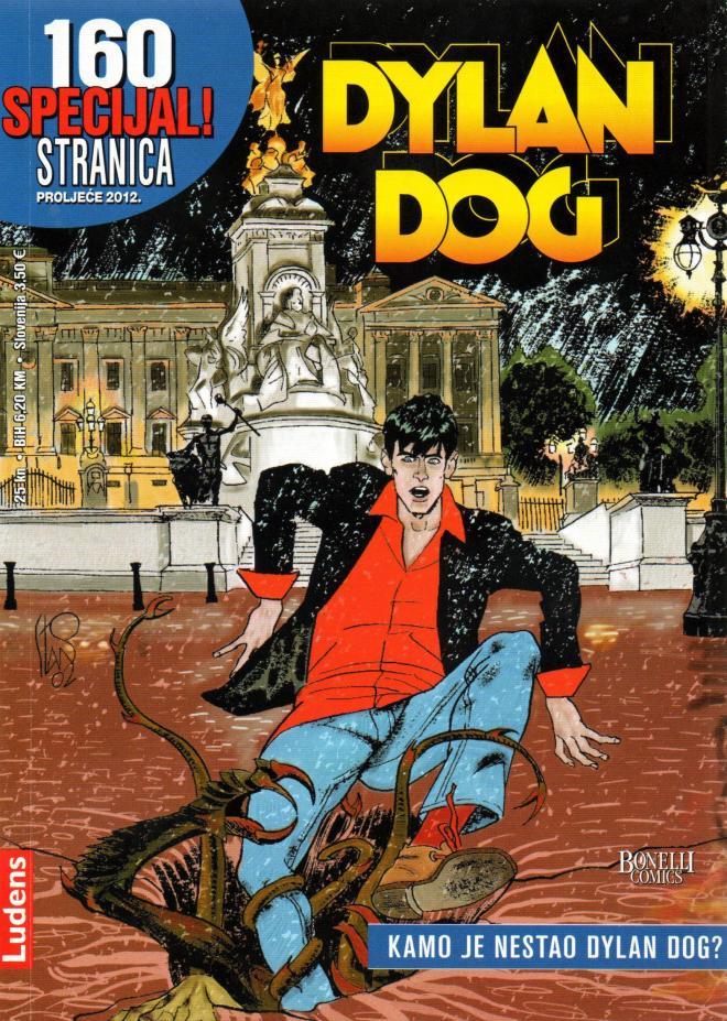 LUD SP Kamo je nestao Dylan Dog #18 - Page 1